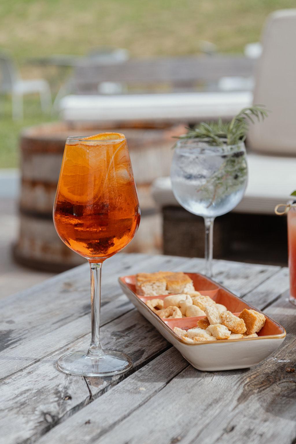 Aperitivo lounge bar - Ristorante Colli Bolognesi con Prodotti a KM 0